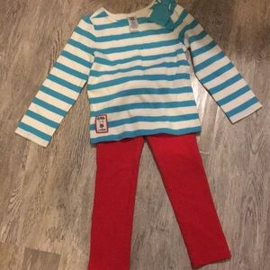 Olivia for Gymboree Red White and Blue Sz 3T 💙❤️